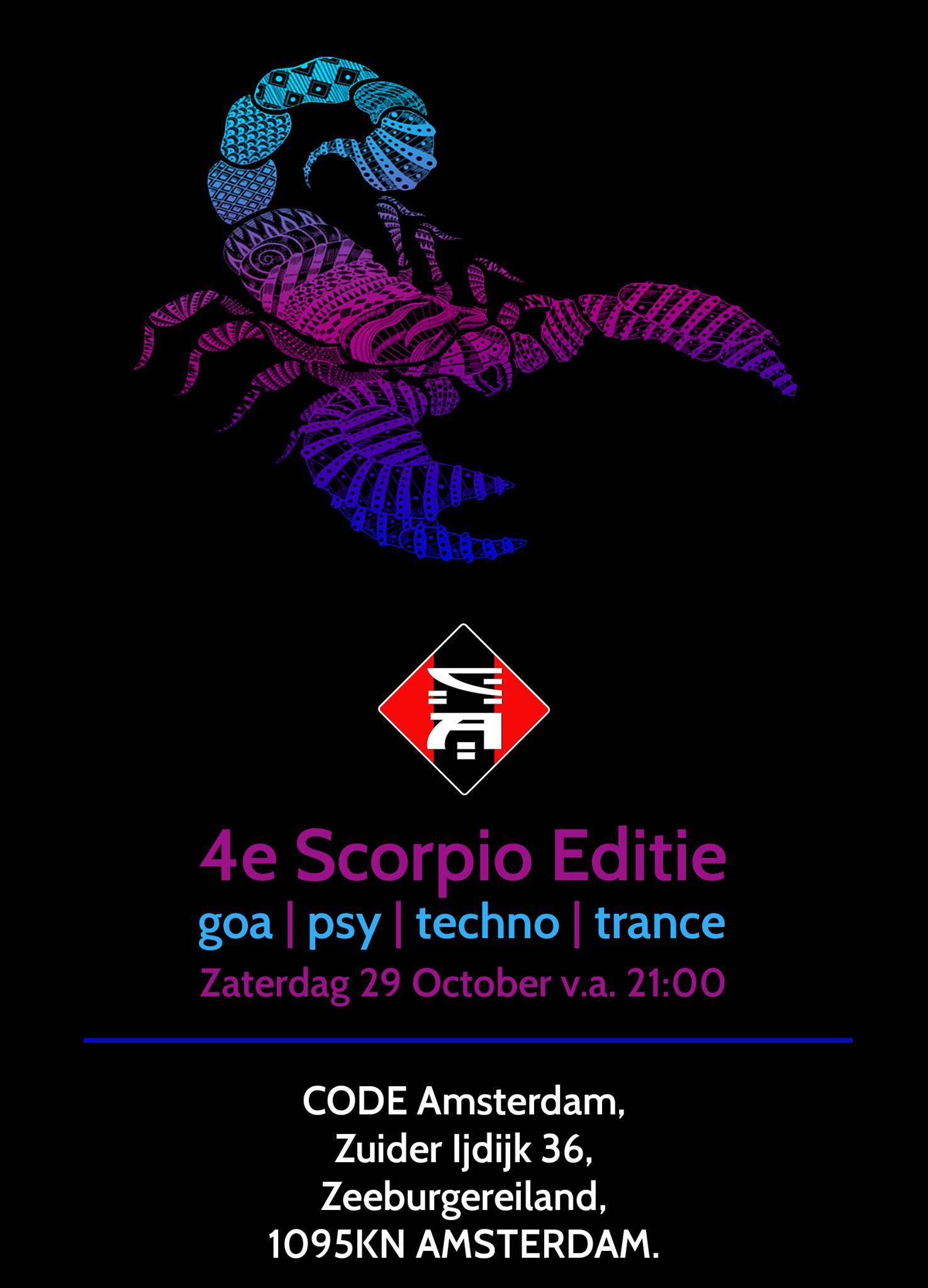 CODE Amsterdam - Scorpio IV