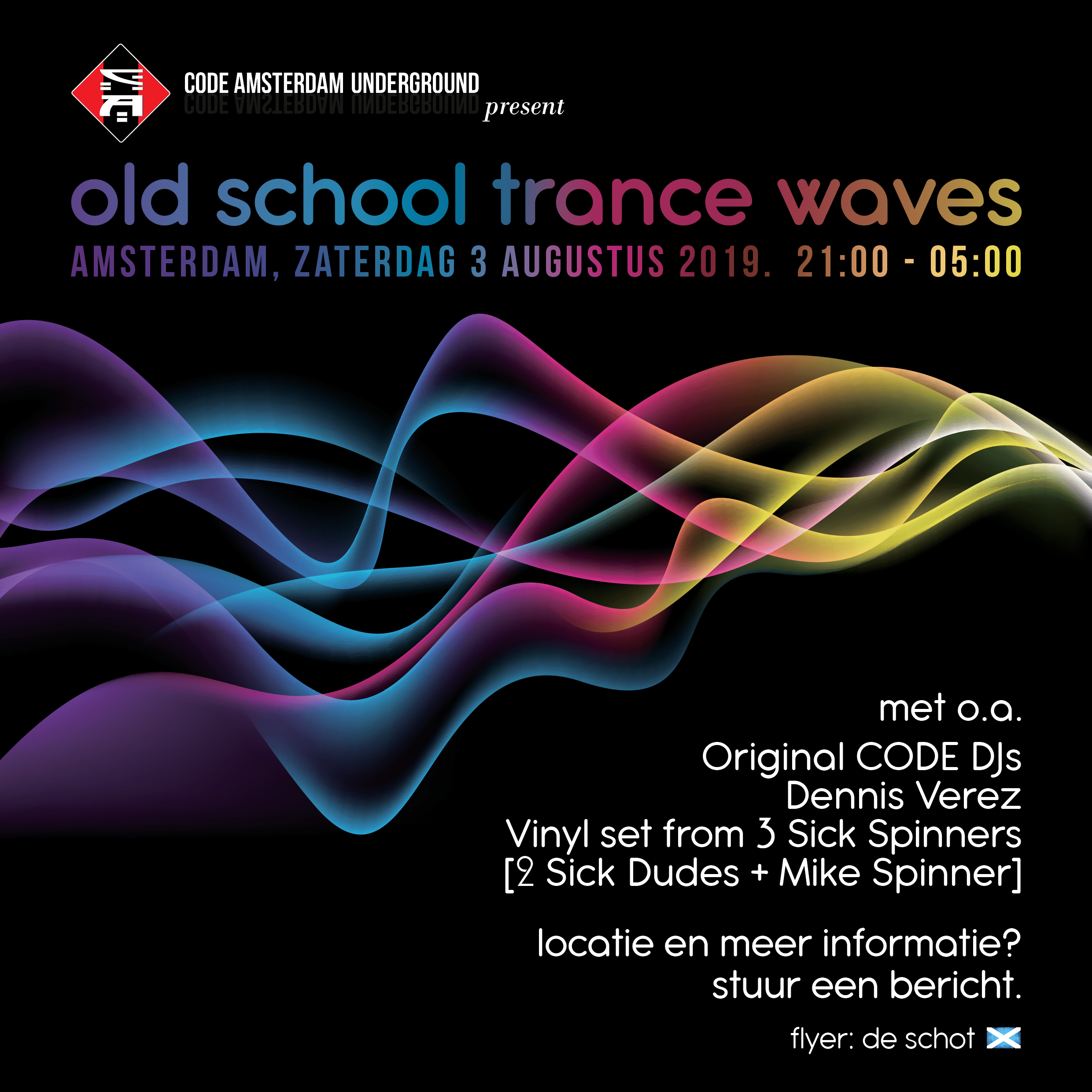 CODE: Old School Trance Waves